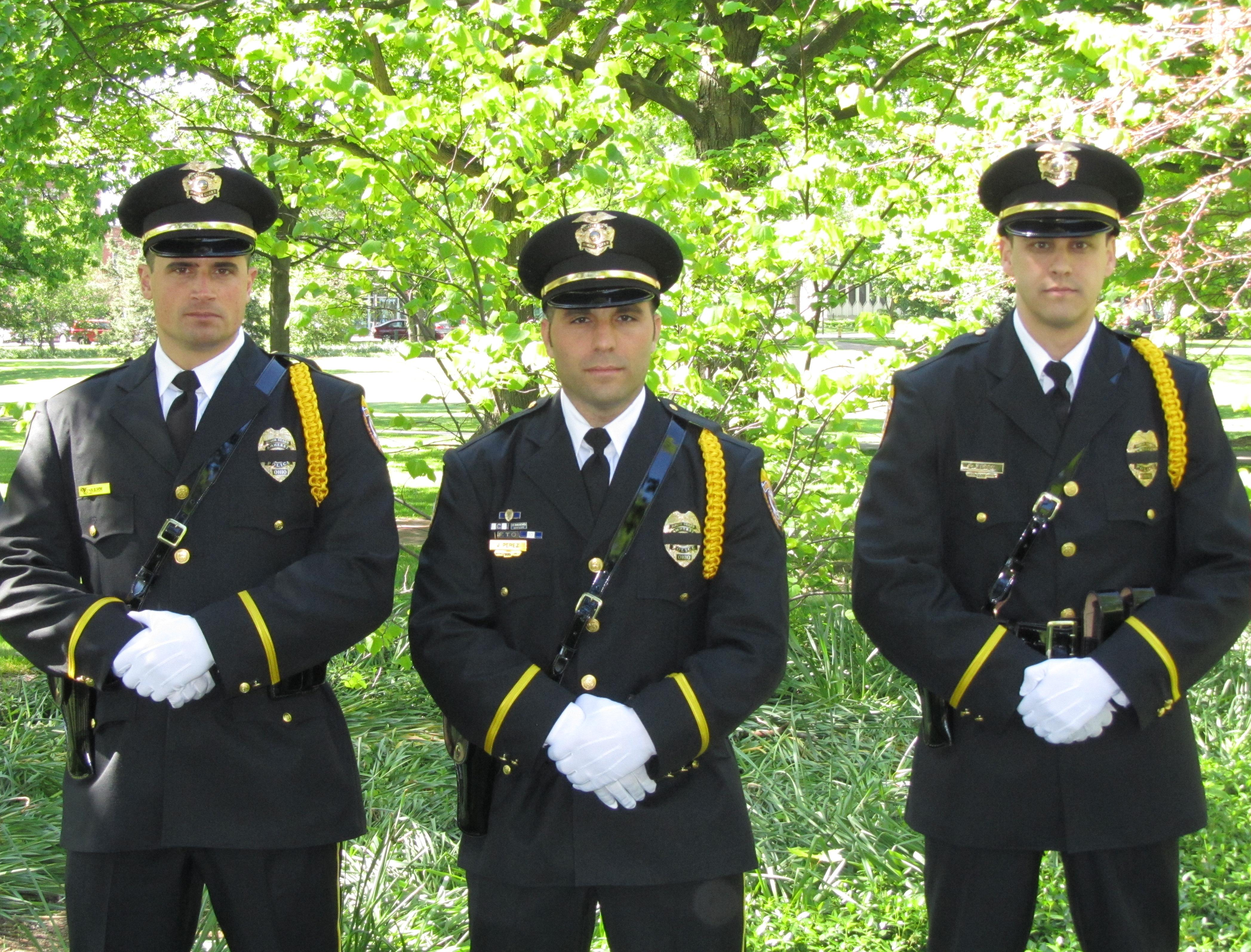 Honor Guard Officers
